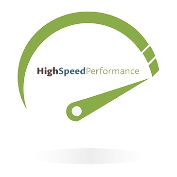 High speed performance icon